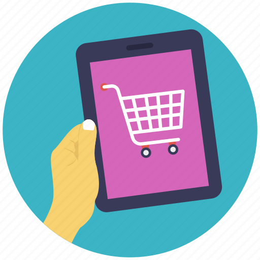 buy online, m-commerce, online shop, online shopping, shopping app icon