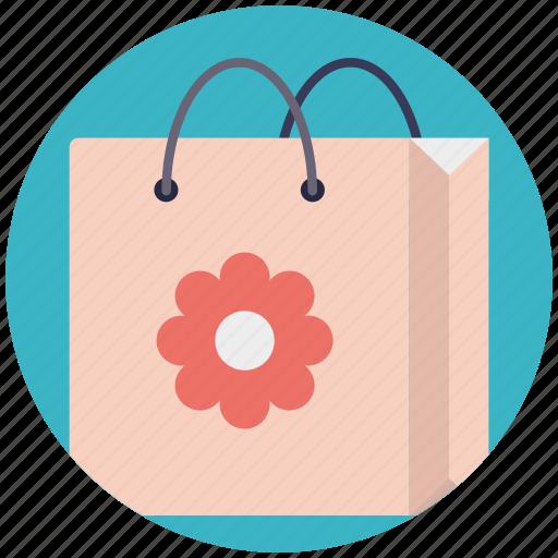 bag, gift bag, shopper bag, shopping bag, tote bag icon
