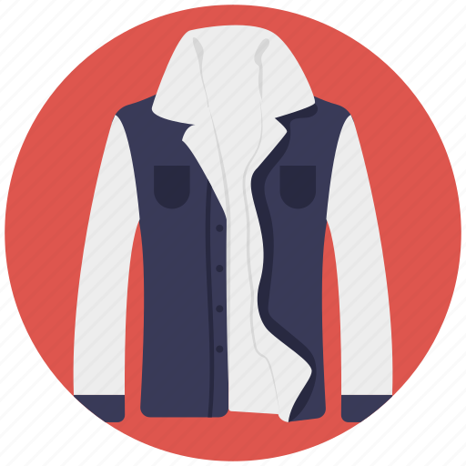 apparel, clothing, dress shirt, formal wear, shirt icon