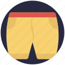 shorts, skivvies, swim shorts, trunks, undergarments icon