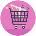 add to cart, buy online, ecommerce, shopping cart, trolley icon