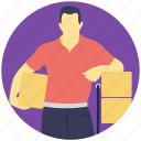 buy, happy shopper, purchase, shopping, shopping bag icon