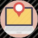 location tracking, map pointer, navigation website, online map, online navigation