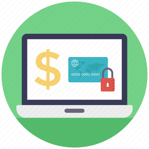 online banking, safe banking, safe payment method, secure transaction, wireless banking icon