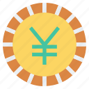 coin, currency, money, payment, shopping, yen
