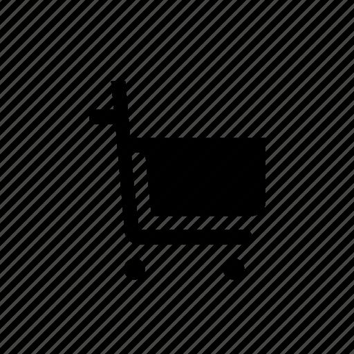 add to cart, basket, buy, cart, pushcart, shopping, trolley icon