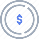 bank, buy, coin, dollar, money, payment icon