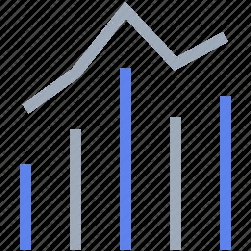 chart, graph, math, sales icon