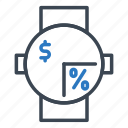 buy, clock, discount, shop, shopping icon