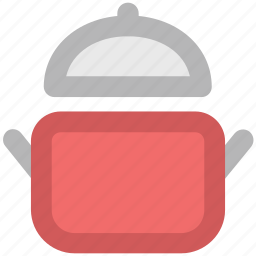 casserole, cooking, cooking pot, cookware, food, kitchen utensil, saucepan icon