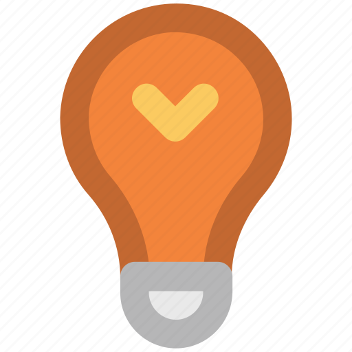 bright, bulb, electricity, idea, illuminate, lightbulb, luminaire icon