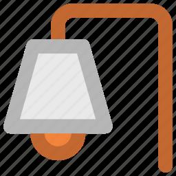 electric light, electricity, light, street lamp post, street lantern, streetlamp, streetlight icon