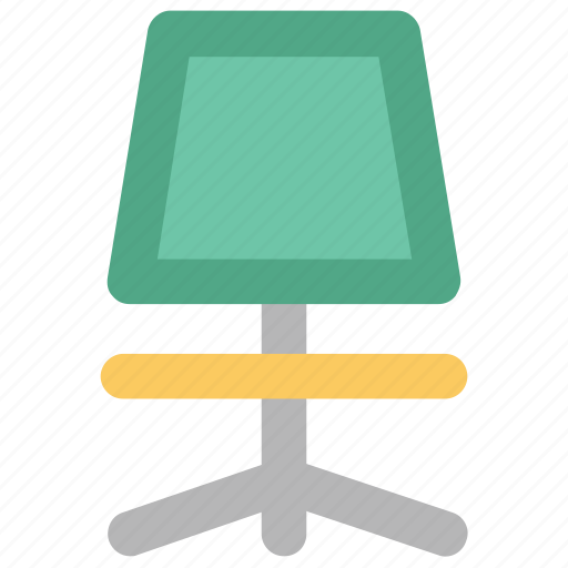 chair, furniture, mesh chair, office, office chair, revolving chair icon