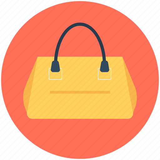 bag, hand bag, ladies purse, purse, shoulder bag icon