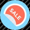 sale label, sale offer, sale sticker, sale tag, sticker icon