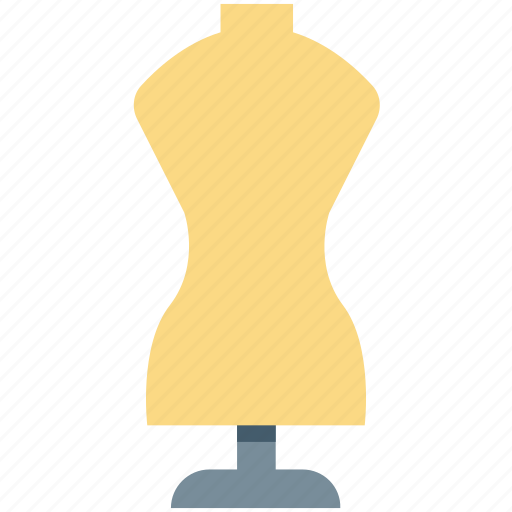 cloth stand, clothing stand, doll stand, dress stand, fabric stand icon
