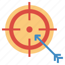 arrow, darts, target, targeting icon