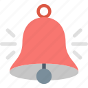 alert, attention, bell, message, notification, ring, warning icon