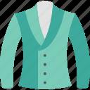jacket, blazer, cloth, clothing, fashion, shopping, wear icon