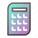 business, calculator, invoice, management, payment icon