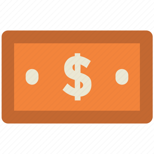 banknote, currency, currency note, dollar, money, paper note icon