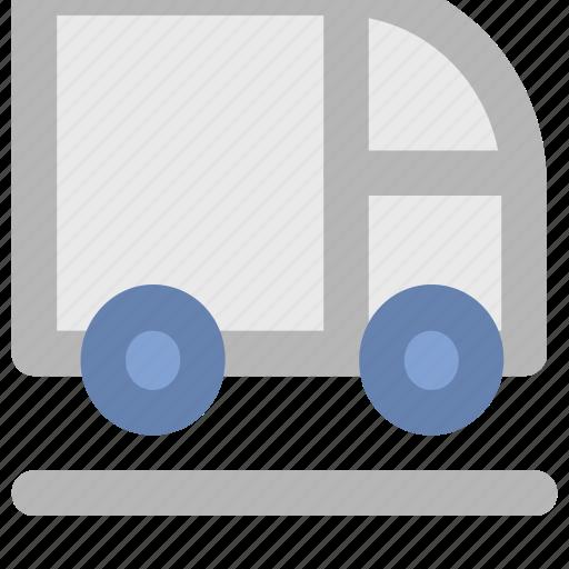 autobus, coach, transport, transportation, van, vehicle icon