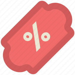 discount, discount tag, market, offer, percentage, percentage sign, shopping icon