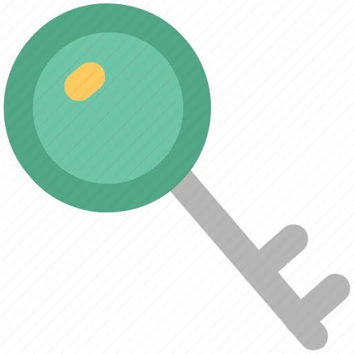 key, lock, privacy, protection, retro key, safety concept, secrecy icon