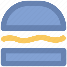 bun, burger, diet, fast food, food, hamburger, junk food icon