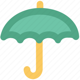 insurance concept, parasol, protection, sunshade, umbrella, weather accessory icon