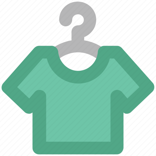 clothes, clothing, garment, hanger, shirt, tee shirt, wardrobe icon