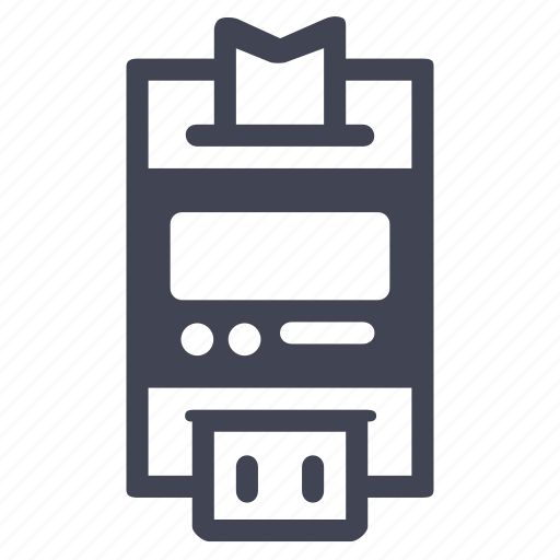 credit, machine, payment, shop, shopping icon