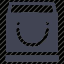 bag, open, shop, shopping icon