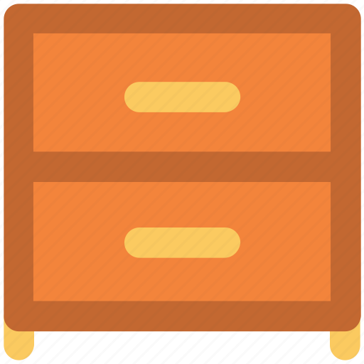 archive, cabinet, chest drawer, drawer, furniture, household, locker icon