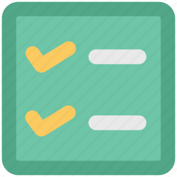 checklist, clipboard, documents, list, paper, plan list, record icon