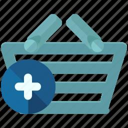 add, basket, ecommerce, new, shop, shopping icon