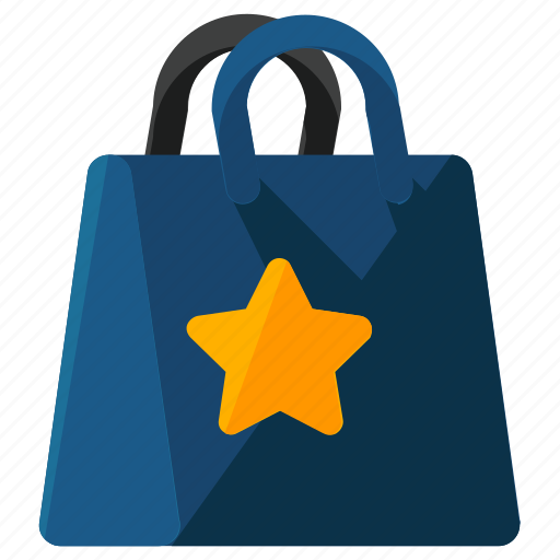 bag, bookmark, ecommerce, shopping icon