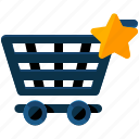 bookmark, cart, ecommerce, shopping icon