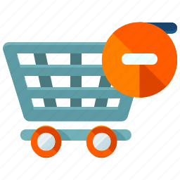 cart, delete, ecommerce, remove, shop, shopping icon