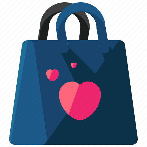 bag, ecommerce, favourite, heart, shop, shopping icon