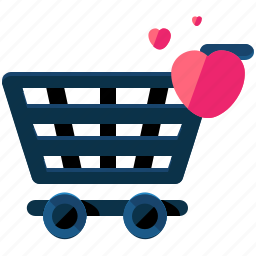 cart, ecommerce, favourite, heart, shop, shopping icon
