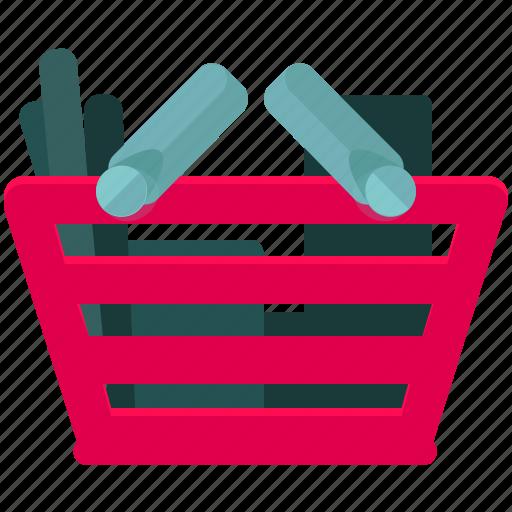 basket, commerce, shop, shopping icon