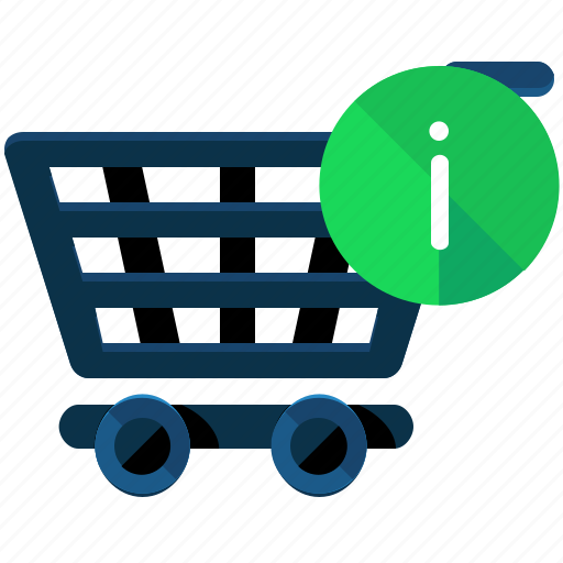 Cart, information, shopping, commerce icon - Download on Iconfinder
