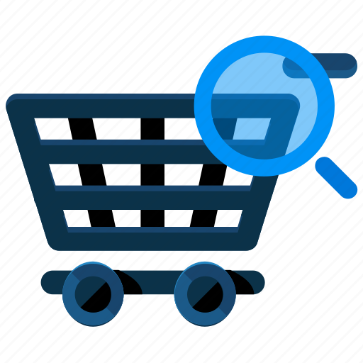 cart, ecommerce, magnifier, search, shop, shopping icon