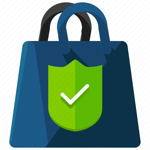 bag, ecommerce, safety, secure, security, shop, shopping icon