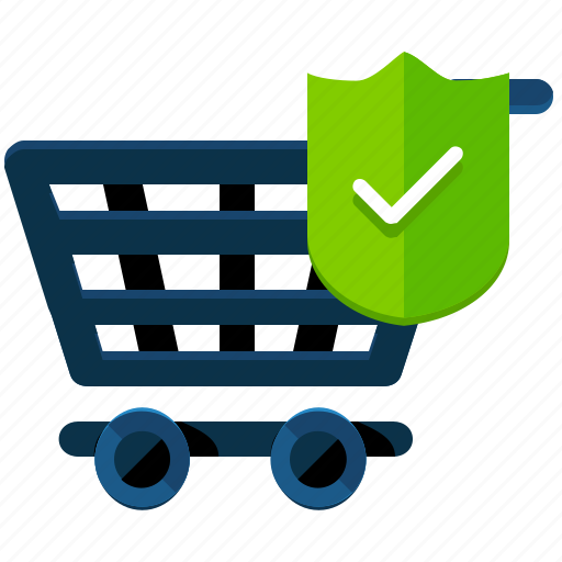 cart, ecommerce, safety, secure, security, shop, shopping icon