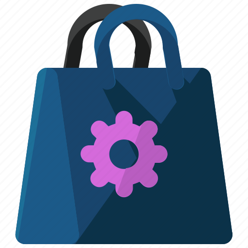 Bag, ecommerce, options, settings, shopping icon - Download on Iconfinder