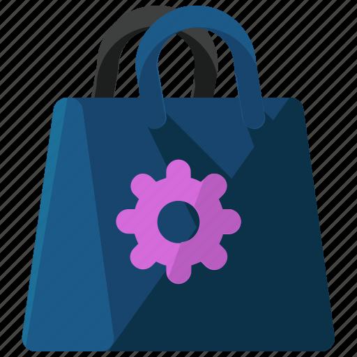 bag, ecommerce, options, preferences, settings, shop, shopping icon