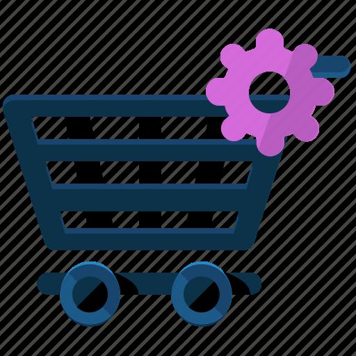 cart, ecommerce, options, preferences, settings, shop, shopping icon