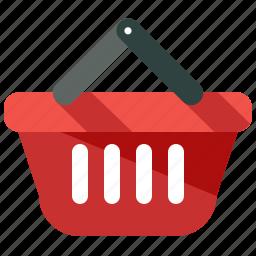 basket, commerce, e-commerce, ecommerce, purchase, shop, shopping icon